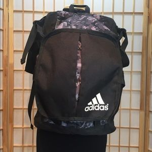 Adidas camouflage backpack